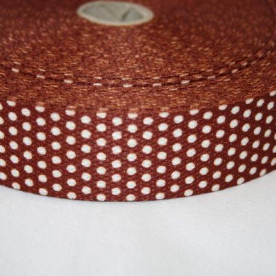 renee-d.de Onlineshop: Weiches Gurtband braun kleine Punkte