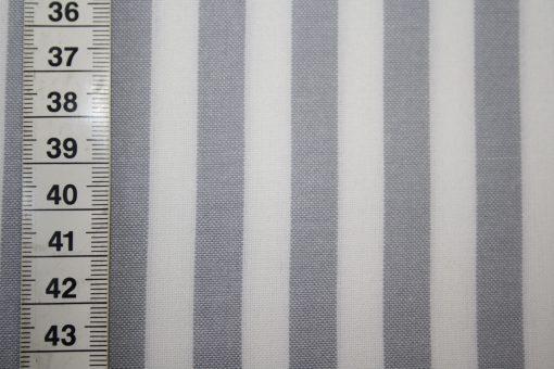 renee-d.de Onlineshop: Wesfalenstoff grau weiß Vichy Streifen groß
