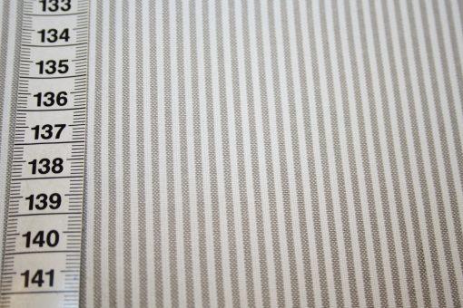 renee-d.de Onlineshop: Westfalenstoff Capri Vichy Streifen taupe braun klein