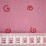 renee-d.de Onlineshop: Westfalenstoff Druckstoff  in pink mit Kringeln