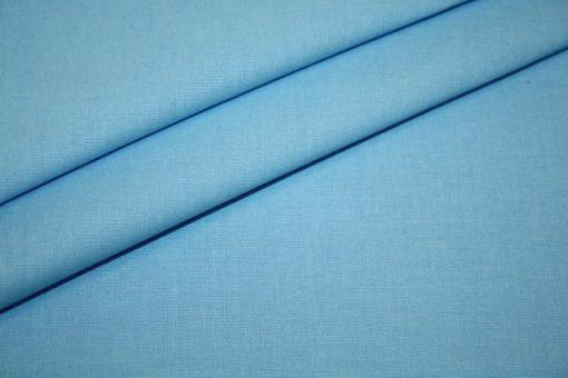 renee-d.de Junge Linie Westfalenstoff in blau uni