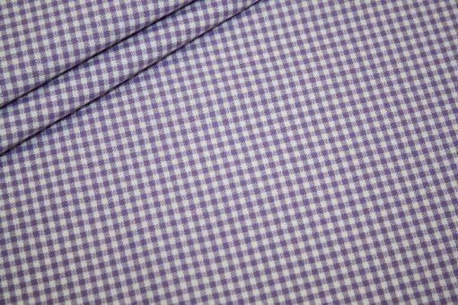 renee-d.de Onlineshop: Westfalenstoff Capri Vichy Karo lila klein