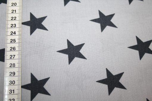 renee-d.de Onlineshop: Westfalenstoff Weihnachten Sterne grau