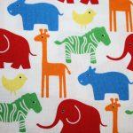 renee-d.de Onlineshop: Westfalenstoff bunt mit Tiere