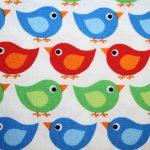 renee-d.de Onlineshop: Westfalenstoff bunt mit Vögeln