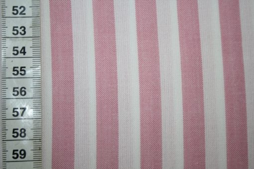 renee-d.de Onlineshop: Westfalenstoff rosa weiß Streifen
