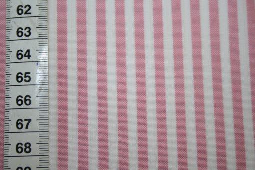 renee-d.de Onlineshop: Westfalenstoff weiß rosa Vichy Streifen