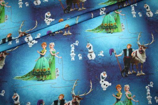 renee-d.de Onlineshop: Original Walt Disney Eiskönigin Jersey Stoff