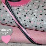 renee-d.de Onlineshop: Sweetheart herzchen Jersey Stoff