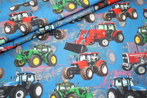 renee-d.de Onlineshop: Digitaldruck Jersey Stoff Bauernhof