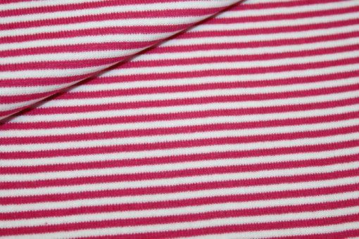 renee-d.de Onlineshop: Bündchen pink weiß gestreift