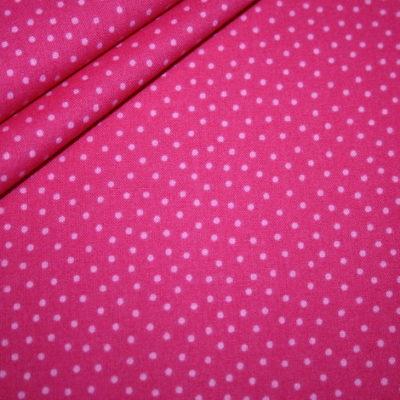 renee-d.de Onlineshop: Westfalenstoff Junge Linie pink kleine Punkte