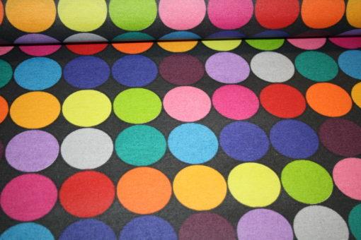 renee-d.de Onlineshop: Swafing beschichtete Baumwolle bunte Punkte