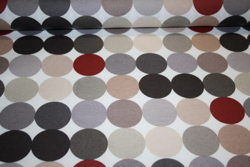 renee-d.de Onlineshop: Swafing beschichtete Baumwolle braune Punkte