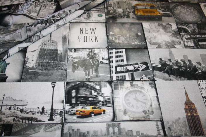 Fotoprint Digitaldruck Dekostoff New York