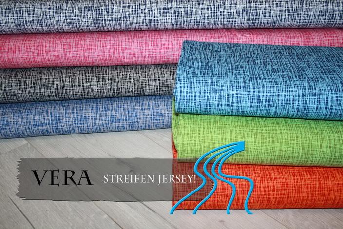 Vera Streifen Jersey Criss Cross!!