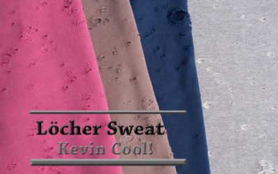 Kevin Cool! Löcher Sweat