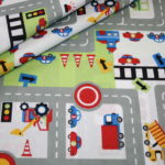 renee-d.de Onlineshop: Stoff Autos Straßen