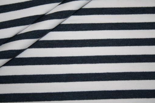 renee-d.de Onlineshop: Sweatshirt Stoff French Terry Streifen