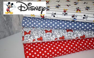 Original Walt Disney Jersey Stoffe!!