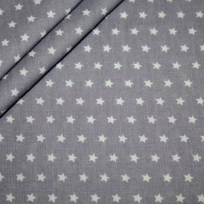 renee-d.de Onlineshop: Baumwollstoff Muster in pastellfarben sterne