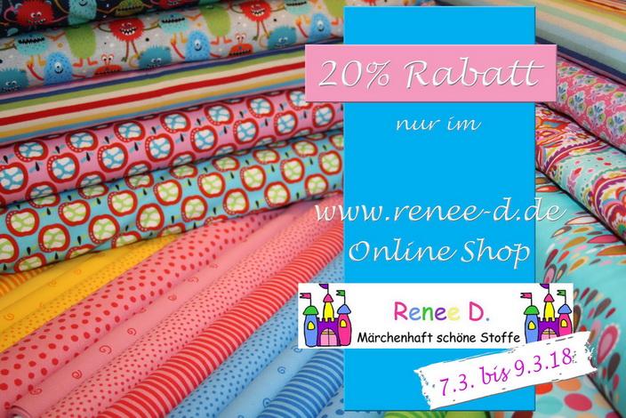 Renee D. Schenkt Euch 20% FrauentagsRabatt!
