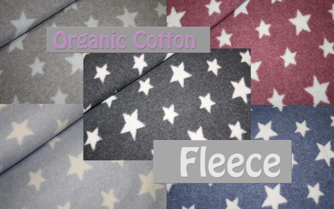 Organic Cotton Sternchen Fleece!