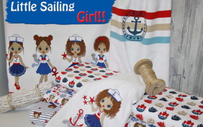 Little Marine Girl Jersey Stoffe!