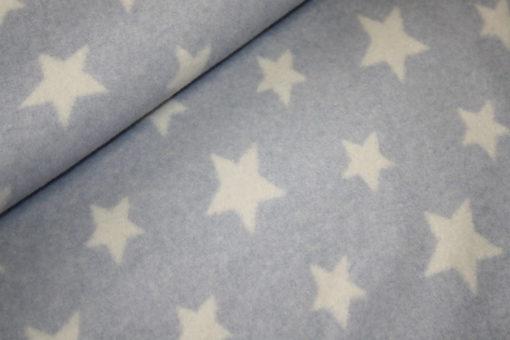 renee-d.de Onlineshop: Organic Cotton Fleece Stoff Sterne
