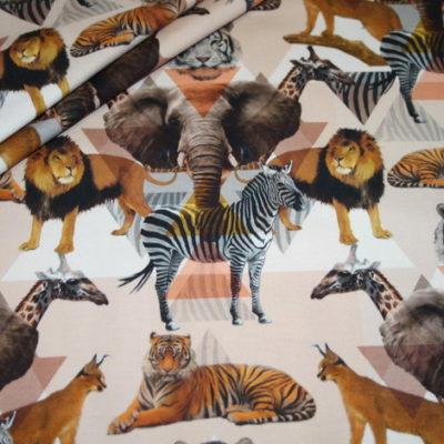 renee-d.de Onlineshop: Jersey Stoff Digitaldruck Afrika