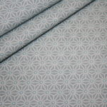 Hilco beschichtete Baumwolle kleine Muster mint