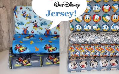 Neue Original Walt Disney Stoffe sind da!