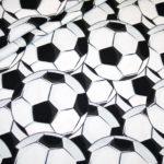 Jersey Stoff Fußball Ball groß