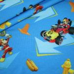 renee-d.de Onlineshop: Jersey Stoff Walt Disney Donald Duck, Mickey Maus