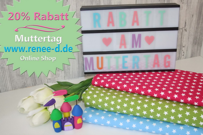 20% Rabatt am Muttertag!!