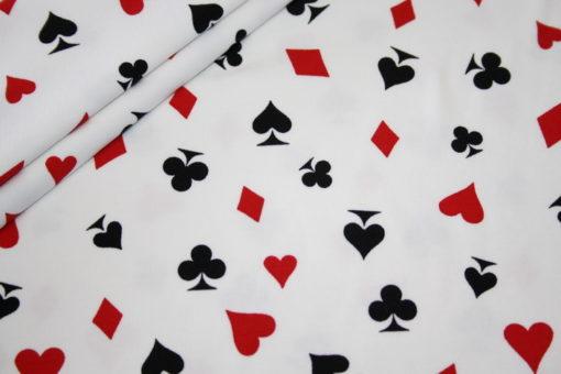 renee-d.de Onlineshop: Jersey Stoff Spielkarten