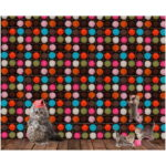 Stenzo Jersey Stoff Digitaldruck Katze mit Wolle