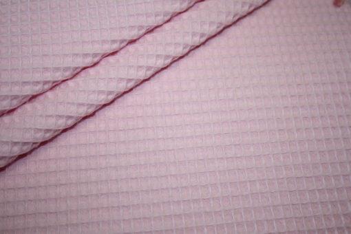 renee-d.de Onlineshop: Waffelpique Stoff rosa