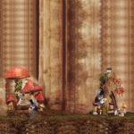 Stenzo Jersey Stoff Digitaldruck Panel Kleines Reh unterm Pilz