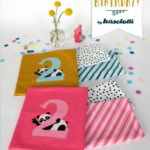 Jersey Stoff Happy Birthday Panel 2 Jahre Jungs