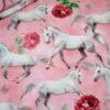 renee-d.de Onlineshop: Digitaldruck Jersey Stoff Pferde