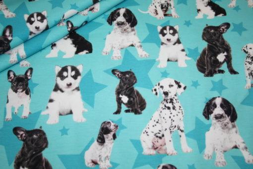 renee-d.de Onlineshop: Digitaldruck Jersey Stoff Hunde