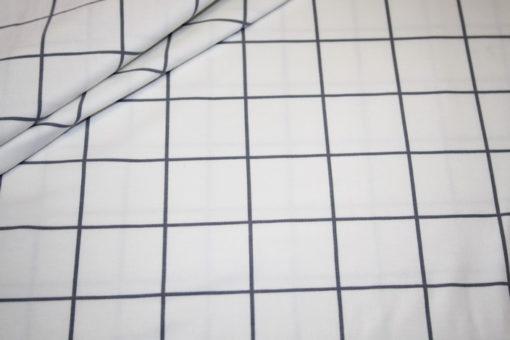 renee-d.de Onlineshop: Jersey Stoff Karo Muster