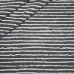 Jersey Stoff Muster weiß grau Streifen