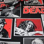 Original The Walking Dead Baumwollstoff