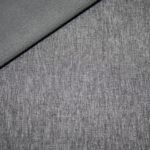Soft Shell Softshell Outdoor Jackenstoffe meliert dunkelgrau