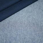 Soft Shell Softshell Outdoor Jackenstoffe meliert blau