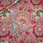 Stenzo Jersey Stoff Flowers Blumen altrosa