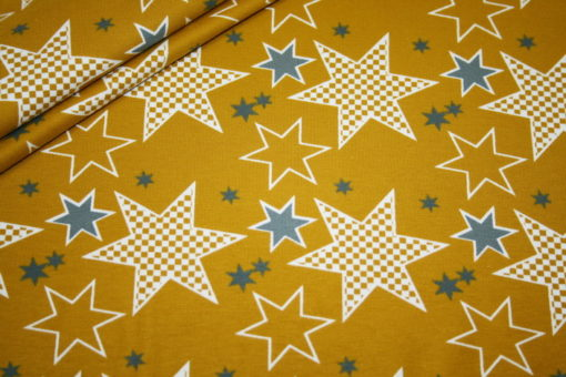 renee-d.de Onlineshop: Jersey Stoff Stenzo Sterne Stars