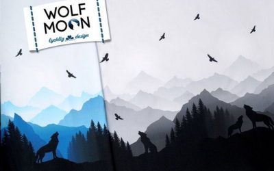 Wolf Moon By Lycklig Design